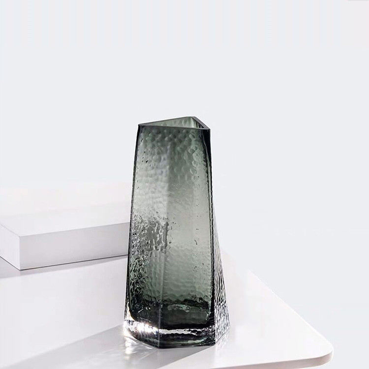 Modern Clear Glass Vase For Table Centerpieces Kitchen Office Living Room Wedding Decoration Gla Flower Decoration Ornaments