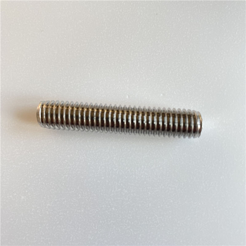 304 Stainless Steel Rod 316 303 321 End 3Mm 8Mm 6Mm 7Mm 2Mm 3 4-10 Acme Threaded 304L Rods 10Mm Square Thread And Nut