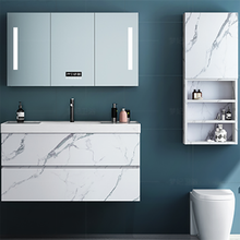 European Style Design Modern Simple Bathroom Cabinet Furniture