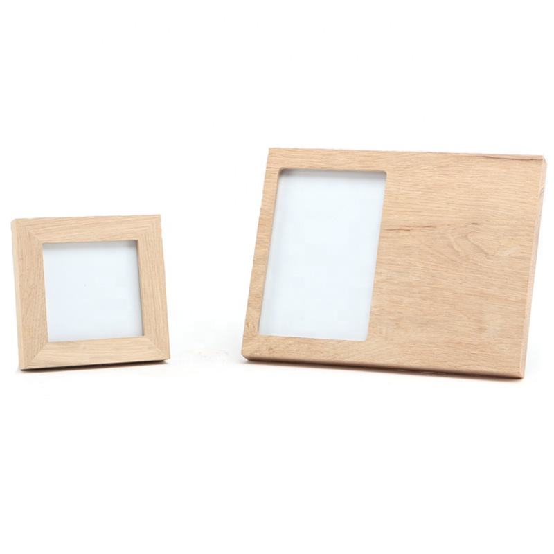 Personalized Natural color 4*6 inch Wooden Pictures Frames for engraved