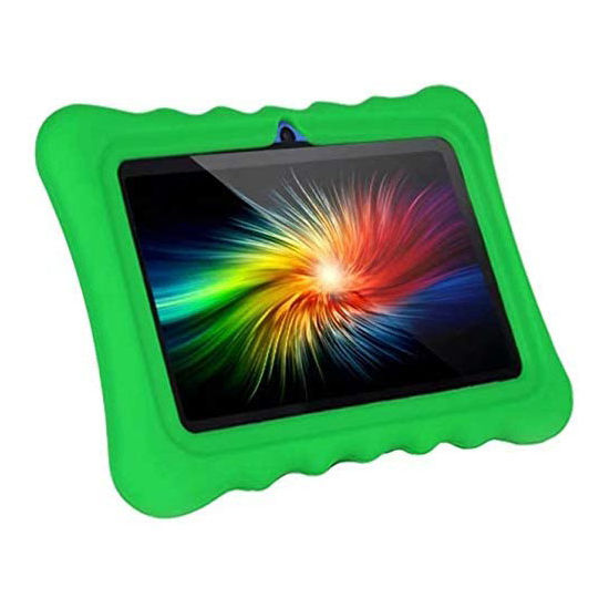 New 7 inch kids android 10 tablet pc 1gb+16gb children android new cpu A50 Quad core tablet android with protect case