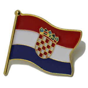 Giveaways Werbe Custom Metall Land Abzeichen Mode Australien Flagge Revers Pin