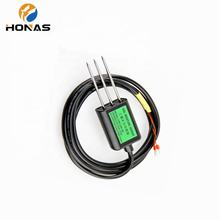 0-10v soil humidity and temperature test measuring sensor