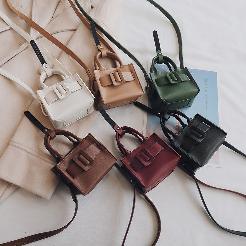 2019 new fashion mini purse handbag small square bag casual shoulder slung handbags cross body bag trend waist hanging bag