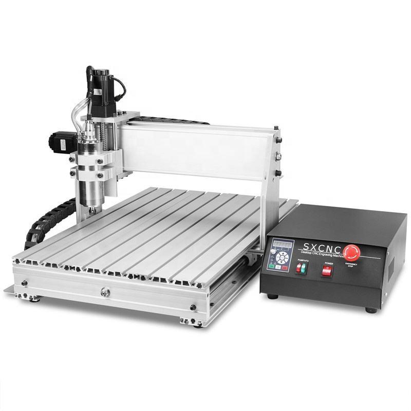 Sihao CNC Router 6040Z 4 Axis CNC Router Machine 1.5kW Spindle Wood Engraving Machine