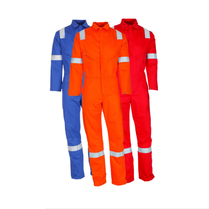 100% Cotton flame retardant coverall fr clothing wholesale