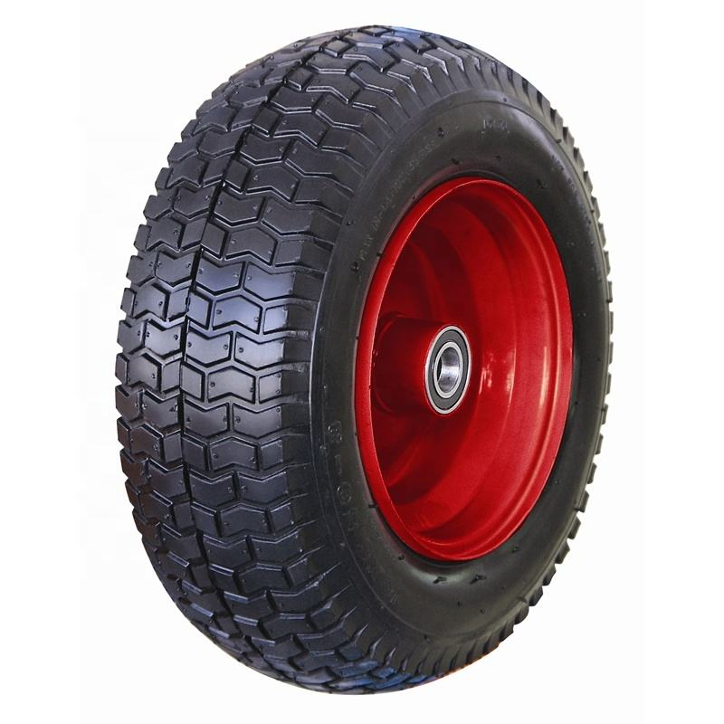 "PU Wheel 16 Inch 16/"" 4.80-8 4.00-8 Tyre Puncture Proof Solid Wheelbarrow Cart"
