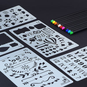 Educational Tools Kids DIY painting drawing template stencils