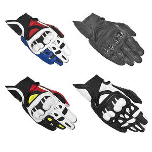 Hot Selling Motorcycle ATV Bike Off-road Motocross GPX Leather Gloves Motorbike Glove For Men