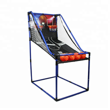 New Design Indoor Games PVC Tube Basketball Shooting Machine