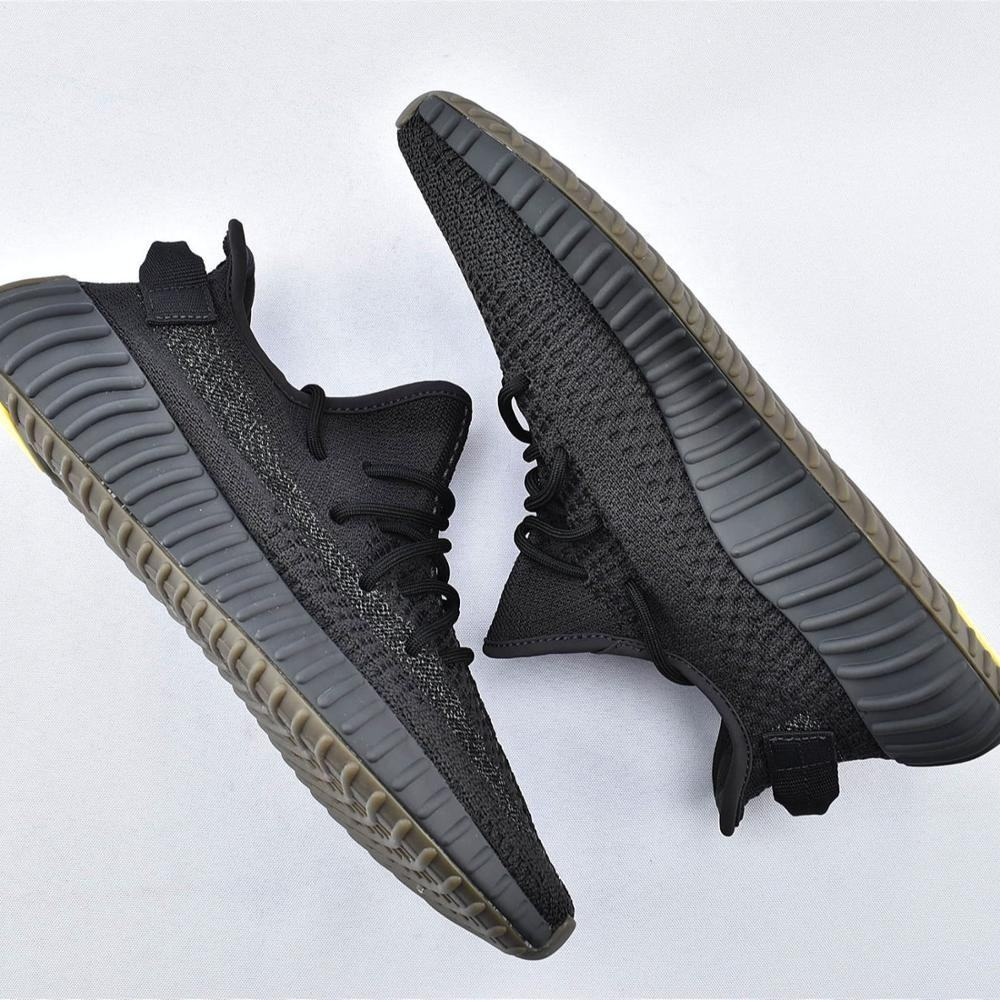 Original Yeezy 350 V2 Desert Sage Running Shoes Sport Shoes Sneakers Gift Shoes Earth Original Logo Boxes Size US 3.5-12.5