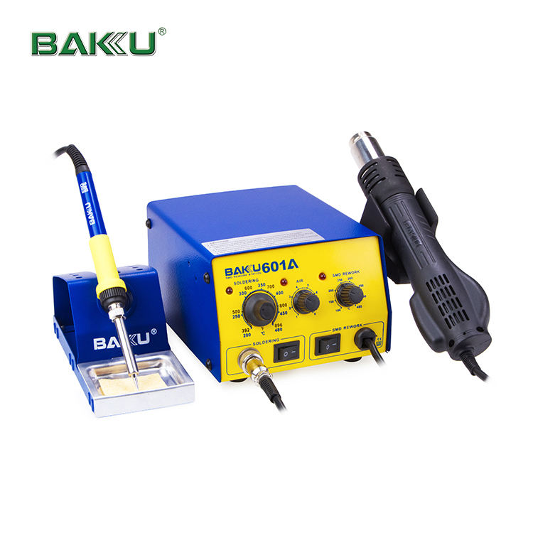 Baku Beste 2 In 1 Professionele Bga Digitale Display Smd Inductie Rework Soldeerstation Hot Air BK-601A Rework Station