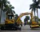 Excavator Hydraulic Excavators Yuchai Excavator 5t Zero-tail Hydraulic Digger Excavators
