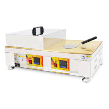 Commercial non-stick coating griddle electric griddle souffler griddle with copper surface