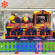 China cheap playground amusement park christmas train kiddie rides game thrill rides amusement machine/game machine