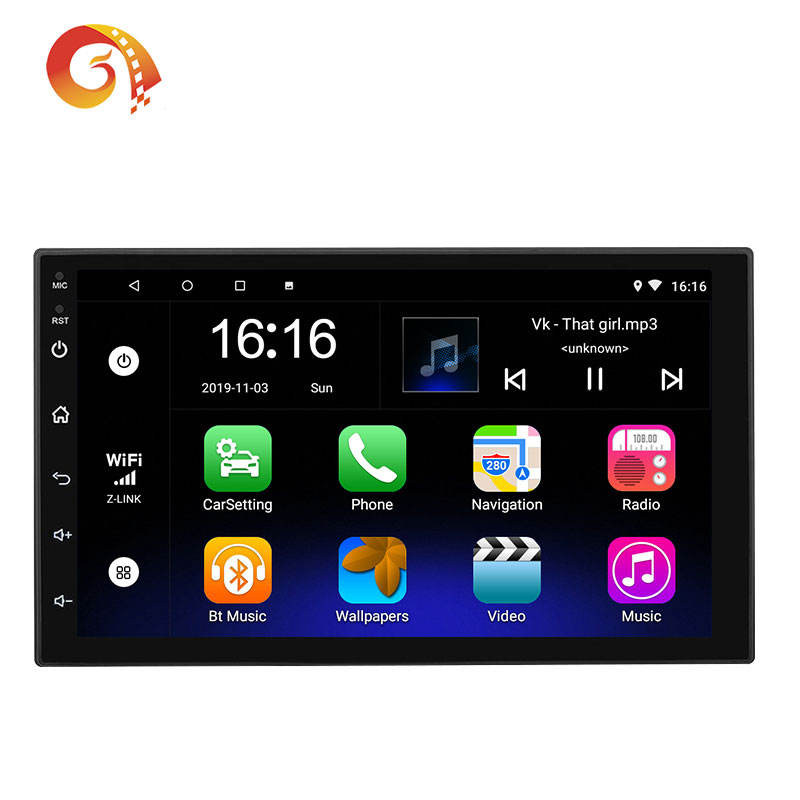 Universal 7 Inch 1+16G T3 Android 8.1 Multimedia Player Car Stereo Gps 2din Car Radio