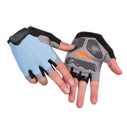 Cycling fitness semi-finger non-slip tactical gloves gym outdoor sports men and women sun protection gloves