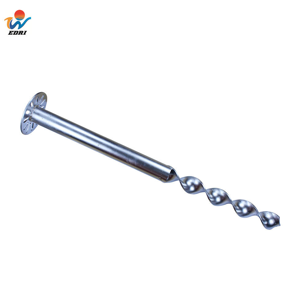 High Load Capacity Fence Spiral Ground Anchor Helical Screw Piles Manufacturer