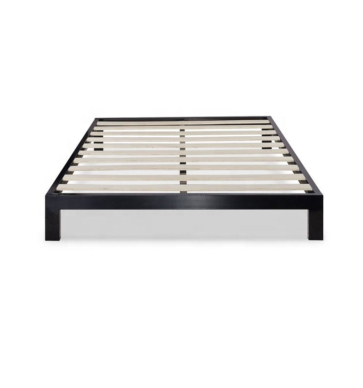 Cheap Price Folding Wall Bed Platform Bed with Wooden Slats
