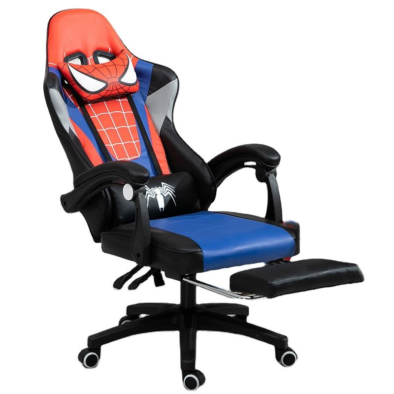 Factory direct sales cheap ergonomic design gaming racing chair with armrest cheap custom logo from Chinese factory
