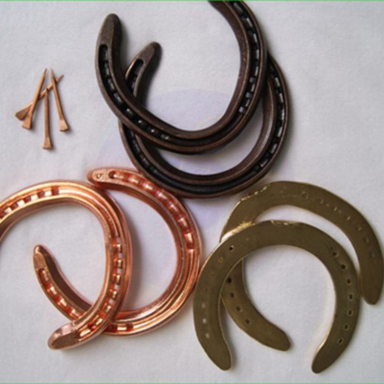 factory direct selling of wholesale copper coated china luck horse shoe