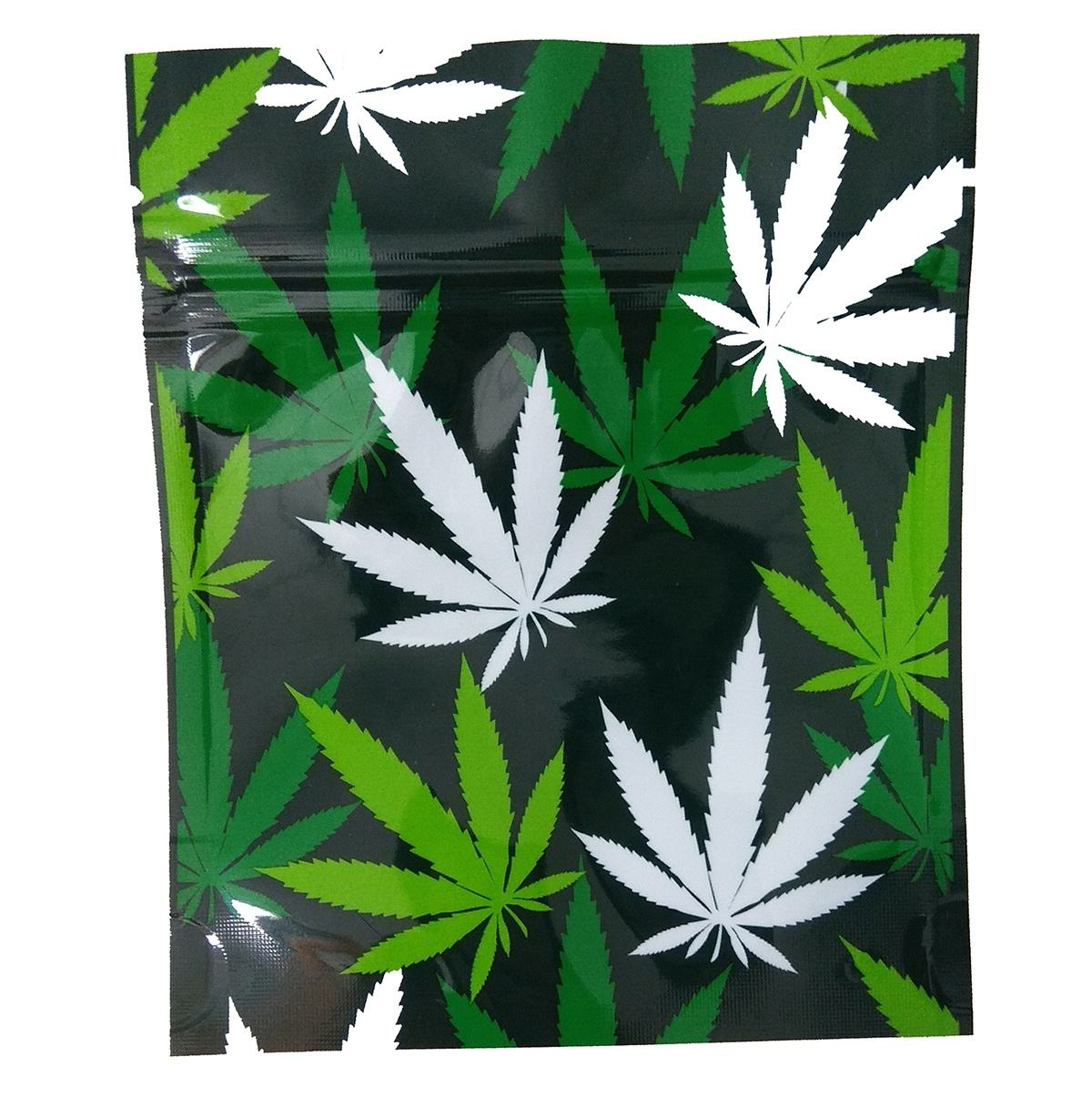 A Small MOQ 500pcs Custom print Child proof Smell Proof hologram 1/8 oz 3.5 gram Mylar weed Bags weed packaging