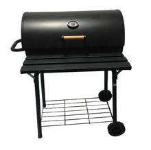 Offset Barrel Charcoal Grill Smoker for Outdoor Cooking