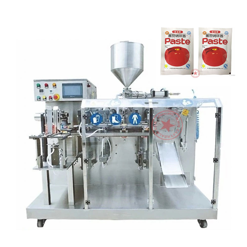 Automatic Mini Premade Pouch Barbeque Tomato Paste Sauce Ketchup Packaging Machine