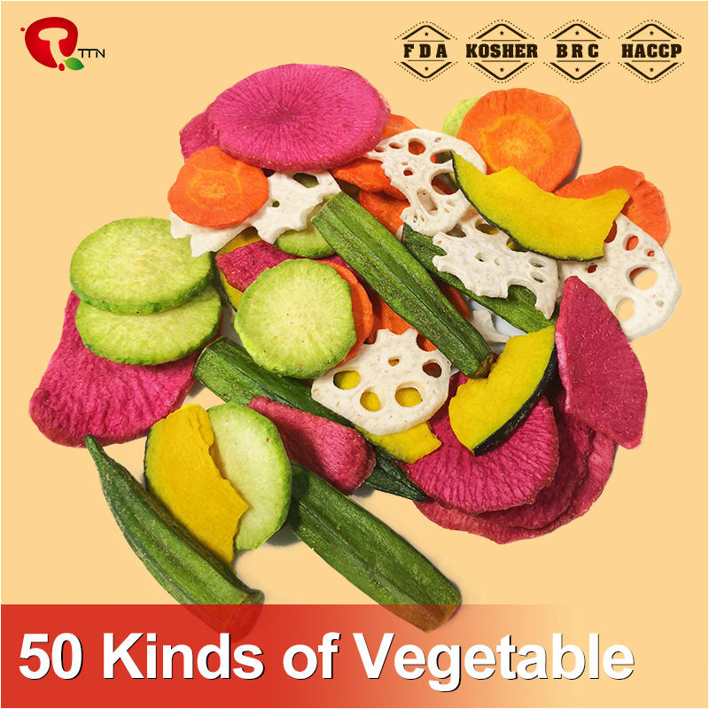 Supplier from China of delicious mixed fruit and vegetable chips