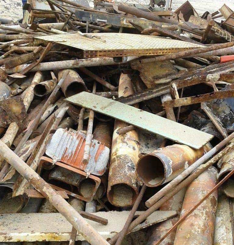 HMS 1 HMS 2 METAL SCRAP/USED RAILS AND CAST IRON SCRAP FOR SALE