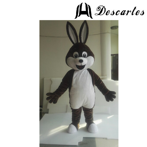 Free Shipping! Festival Dress Adult Bunny Costume, Plush Easter Rabbit Mascot For Sale