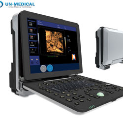 UN-Medical UN-C300 Hospital Portable 15 Inch Doppler Laptop Ultrasound Machine