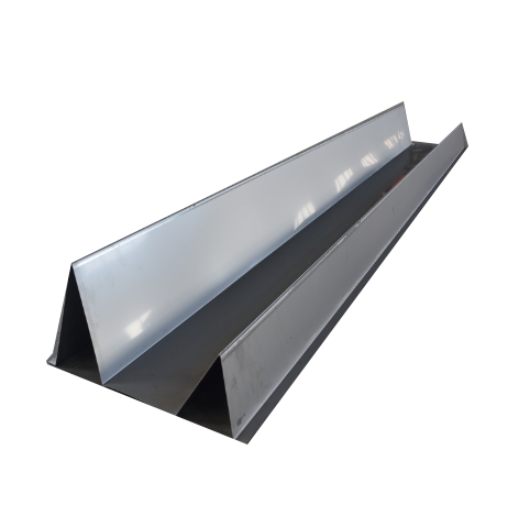 Animal husbandry M shape feed trough slot stainless steel sow feeder for pigs gestation crates