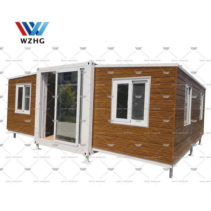 China 2 bedroom modular prefab expandable container house luxury homes price