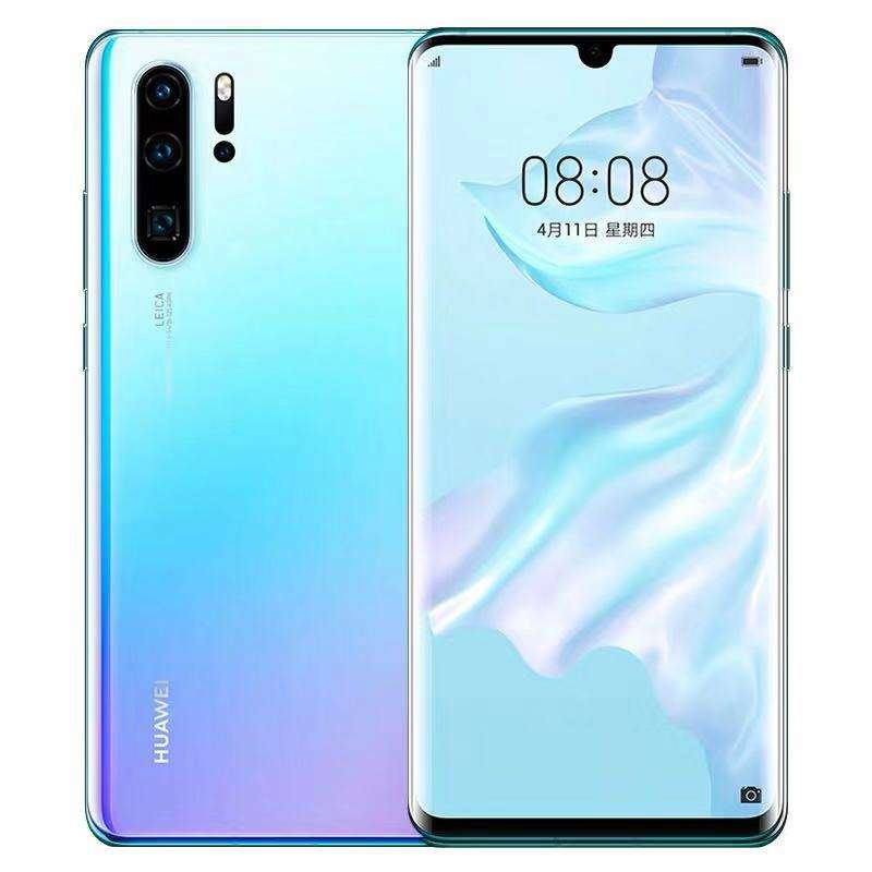 Original Huawei P30 Pro VOG-AL10 8GB 512GB Triple Back Cameras Face ID Screen Fingerprint Id 6.47 inch Dot-notch smartphone