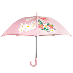 New fashion magic change color when wet kids cartoon cute design umbrellas cheap wholesale in china