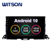 WITSON ANDROID 10 Car Video Radio DVD Player For TOYOTA HIGHLANDER 2015 2G RAM 16G Flash Bluetooth Car Multimedia