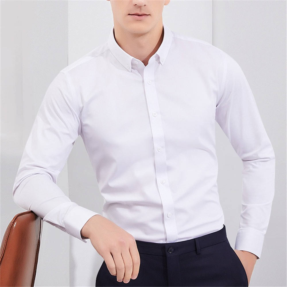 2020 New Arrival Custom Men's Shirts Non-Ironing Casual Shirts For Men