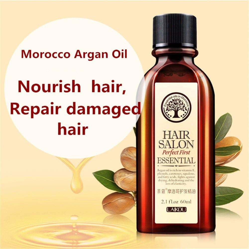 OEM 60ml morocco argan repair hair care essential oil