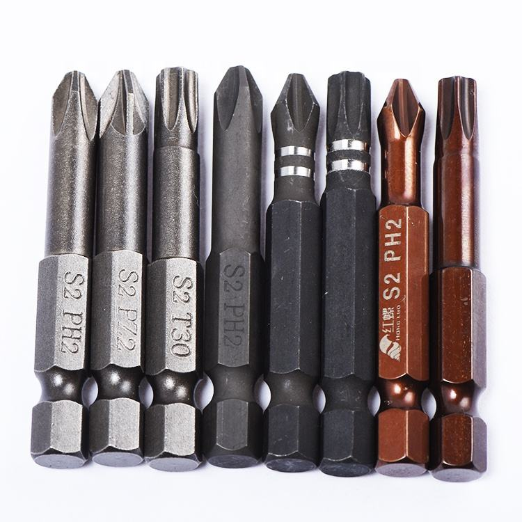 Factory sale Phillips head s2 magnetic screwdriver bits