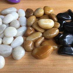 Wholesale river rock landscaping garden high quality smooth decorative Landscaping pebble Stone