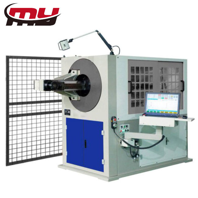 MYT brand Automatic Rebar Stirrup Bender 3D Cnc Wire Bending Machine