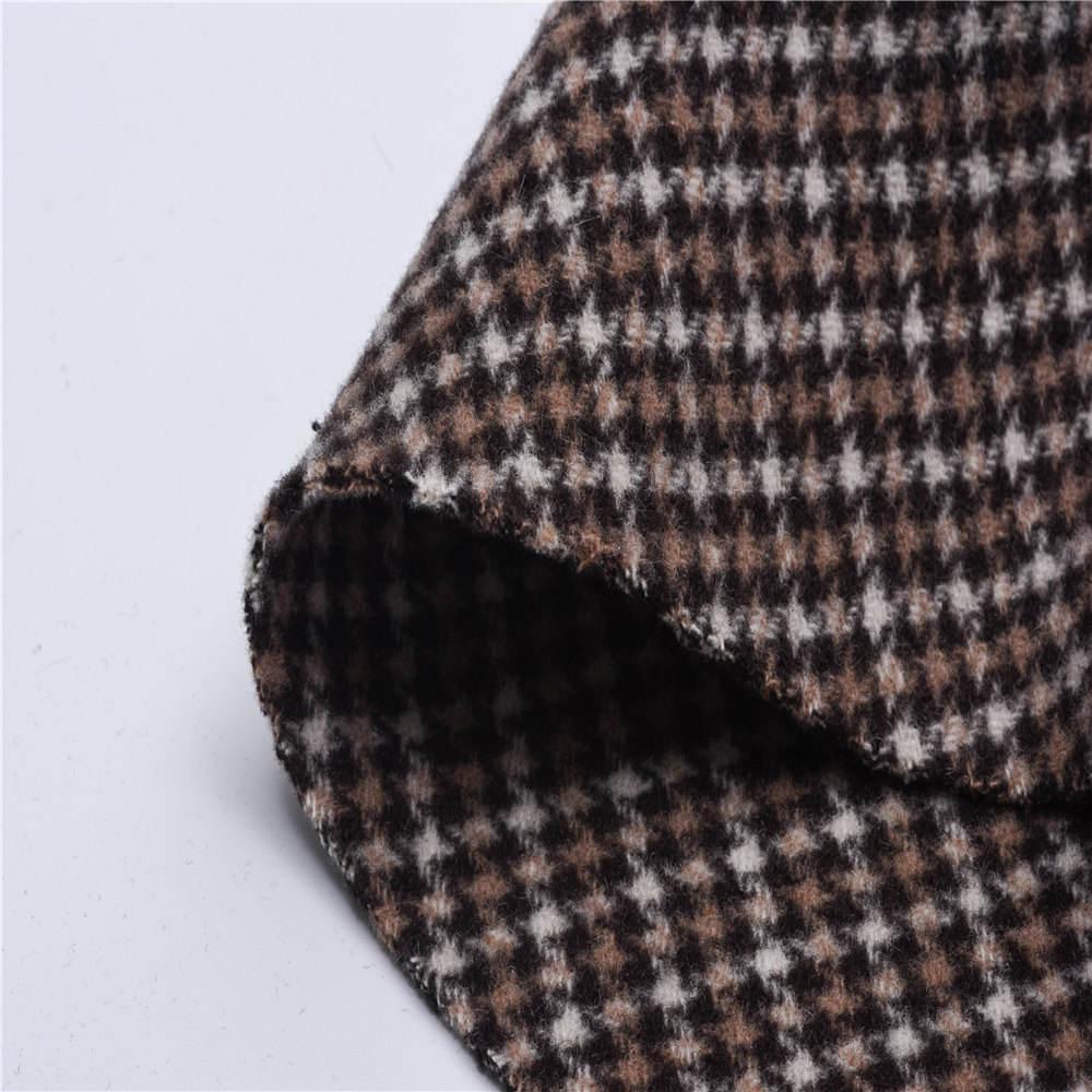 Quality 100/% Cashmere Wool Herringbone Blend Fabric Plain Dress Upholstery