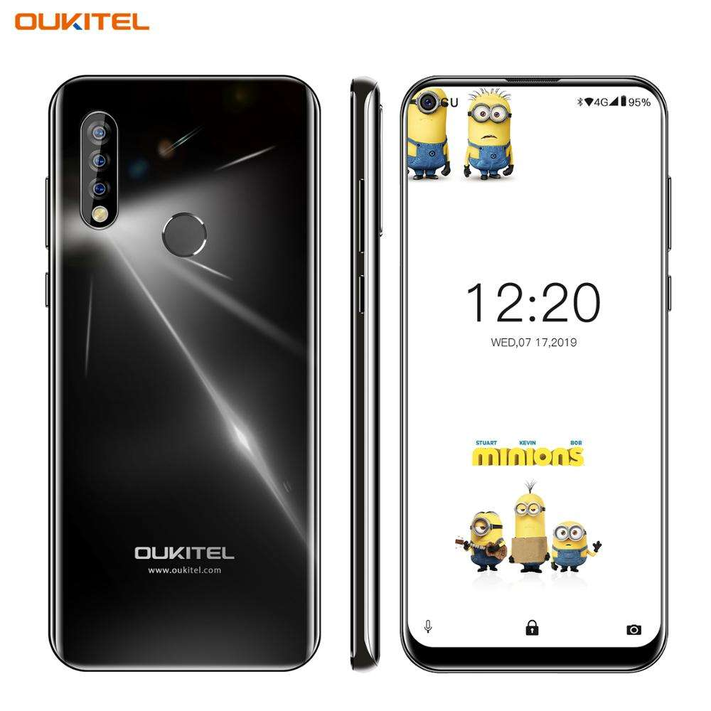 6.35 ''OUKITEL C17 Smartphone MT6763 Octa Core <span class=keywords><strong>Handy</strong></span> 3GB 16GB Android 9.0 <span class=keywords><strong>Handy</strong></span> Dreifach kamera Doppel 4G LTE Bänder OTG