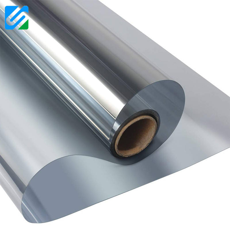 Hot sell high heat rejection PET one way mirror building window film