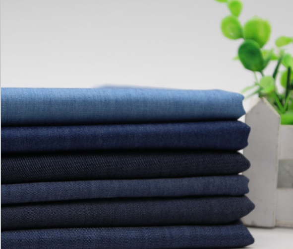 Good quality Rayon fabric 6oz thin denim stock for jacket