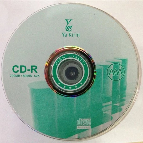 Sold YA KIRIN 50PCS blank discs cdr and dvdr 700MB CD