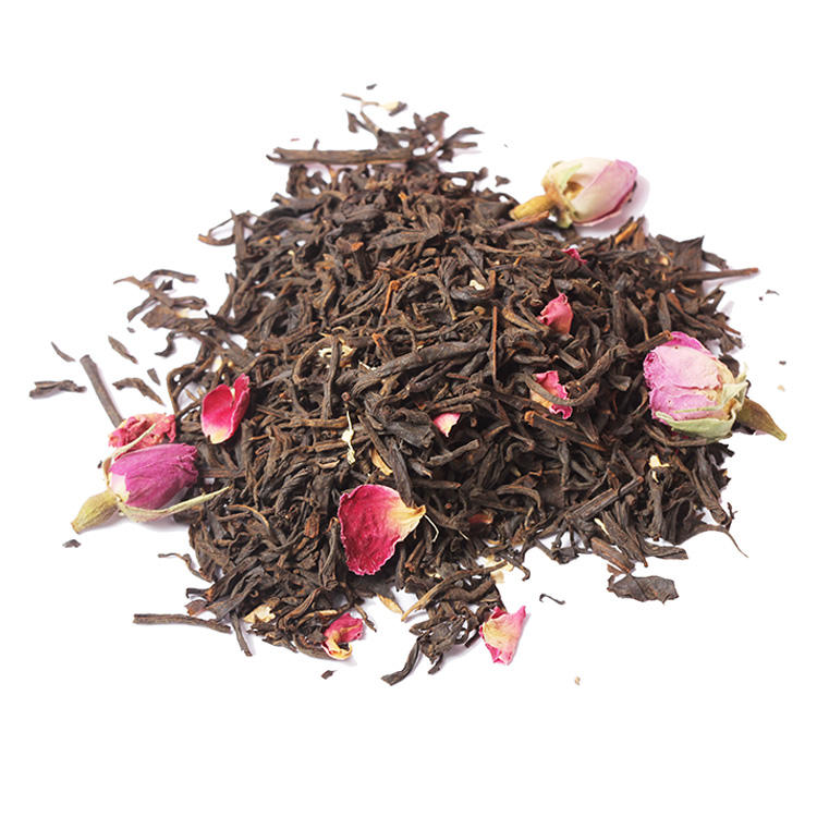 Chinese Breeze Lente Organische Cherry Rose Blossom Kruidenthee Premie Kamille Fruit Essentie Op Smaak Blend Gember Zwarte Thee