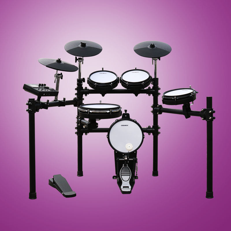 2020 NEW Products Instruments Musical 12-inch Snare Drum 5pcs Drum Set All Mesh Electronic Drum Set