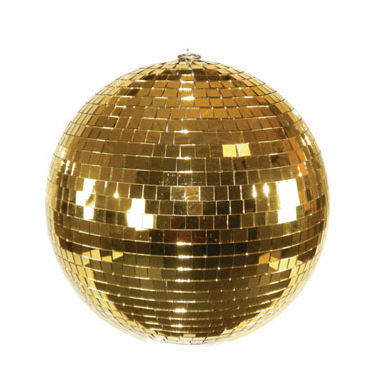 2020 new 40cm gold disco ball for decoration